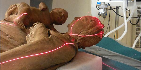 Pénétrer dans la matière et dans la sculpture : la Vierge à l'Enfant de Blois passée au scanner X de l'INRA │Recherche