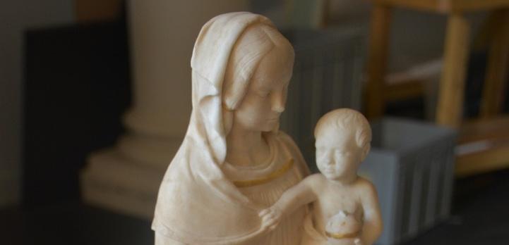 Vierge à l'Enfant dite d'Ivoy-le-pré