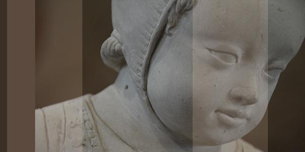 Faire descendre une statue de sa niche pour la rendre accessible au grand public et au chercheur : l'enfant de Jarzé│Acquisitions 3D