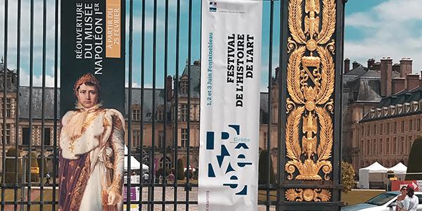 Le projet Sculpture3D au Festival d'Histoire de l'Art de Fontainebleau